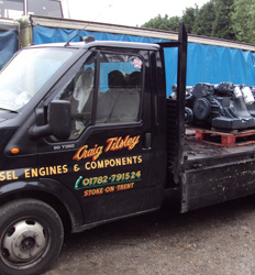 Craig Tilsley - Reconditioned Diesel Engines in Stoke on Trent Staffordshire
